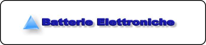 Batterie Elettroniche