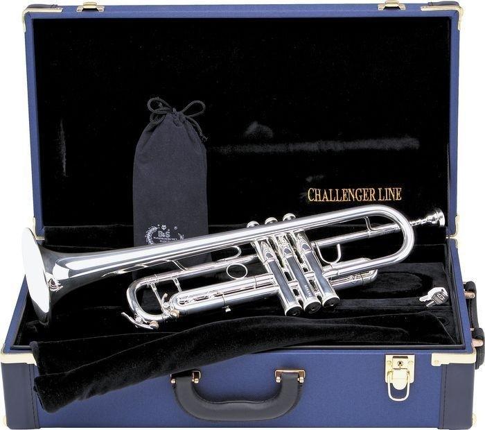 B&S Tromba  in Sib  laccata  silver  Challenger line  modello 3137
